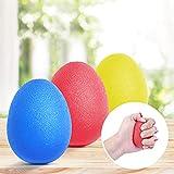 Peradix Handtrainer Fingertrainer Eiförmige Griffbälle 3pcs 30-60lbs Klettern Ball Hand...