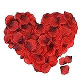 ASANMU 4000 Stück Rosenblätter, Rosenblüten Rosenblätter Rosen Blätter Blüten Kunstblumen...