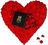 POZY® Rosenblätter mit edler Aufbewahrungsbox [4.000 Stück] romantische Dekoration zur Hochzeit &...