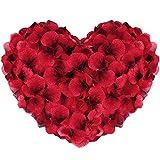 Vegena 2500 Stück Rosenblüten, Seide Rosenblätter Rosen Blätter Blüten Kunstblumen Seidenblumen...