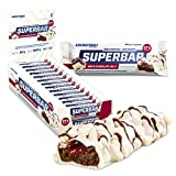 Energybody Superbar Proteinriegel White Chocolate Jelly 24x 50g / High Protein Riegel 37% Eiweiß -...